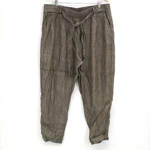 Dex Belted Tencel Pants